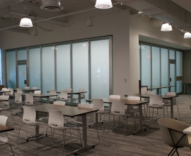 Acousti Clear Frosted Glass in Fort Myers