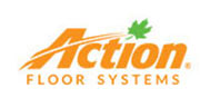 Action Floor Systems company logo in orange