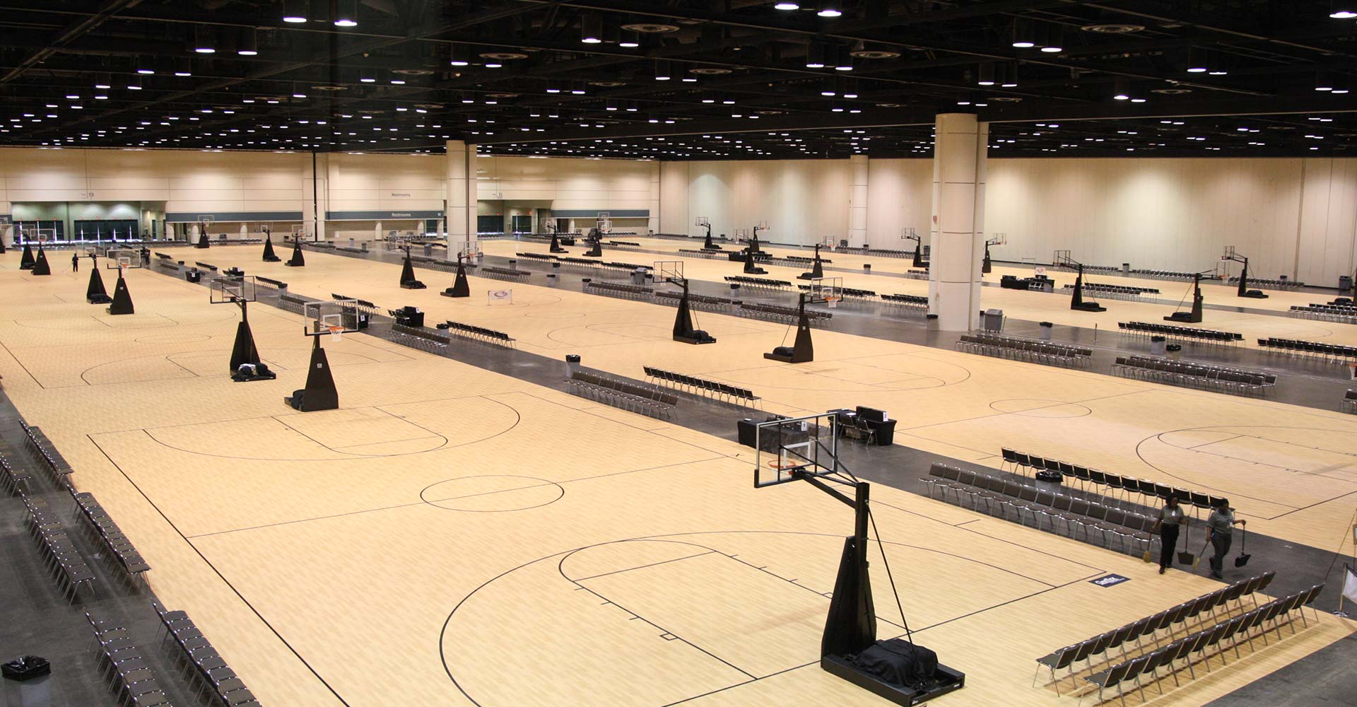 Orange County Convention Center Basketball Courts